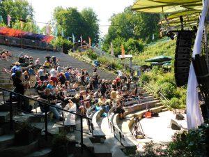 Het gezellige openluchttheater van Valkenburg